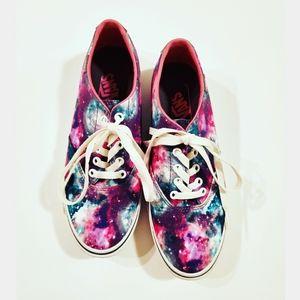 Vans Galaxy Cosmic Suede Sneakers Size 8.5
